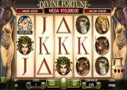 Divine Fortune Slot Screenshot