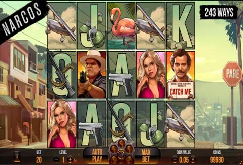 Narcos Slot Screenshot