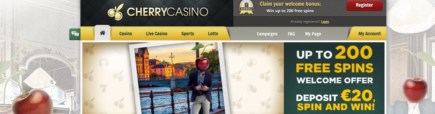 Erfahrung Cherry Casino